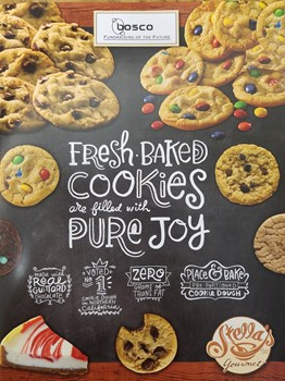 Cookie Dough Sales Flier