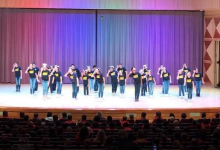 Image of FW Oral Interpretation's performance at Clovis North's Art Center